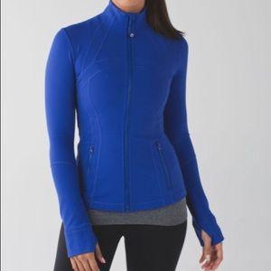 LULULEMON • Define Blue Sapphire Jacket